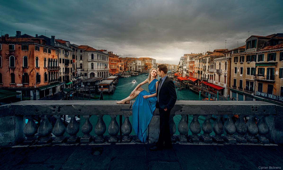 Wunderschönen Venedig Hochzeitsfotos von Hochzeitsfotograf Frankfurt