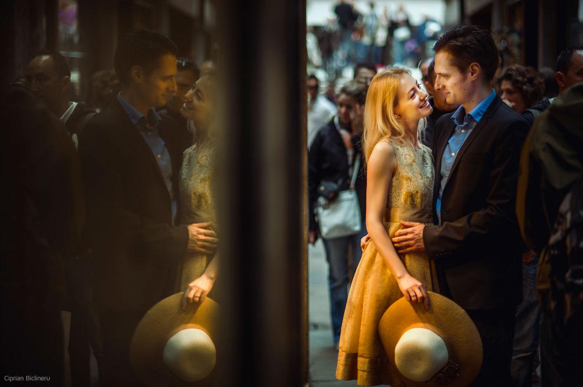 Hochzeitsfotograf in Venedig, Reflektion Fotogafie