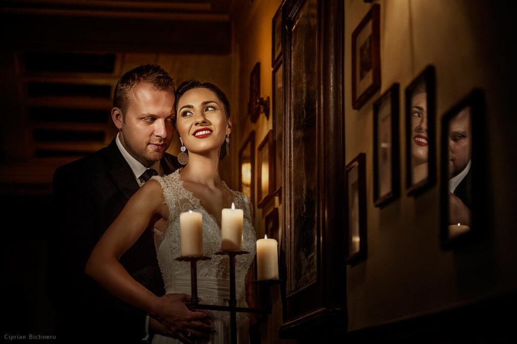 Hochzeit Regen - ein Gelegenheit für außergewöhnliches Brautpaarfotos