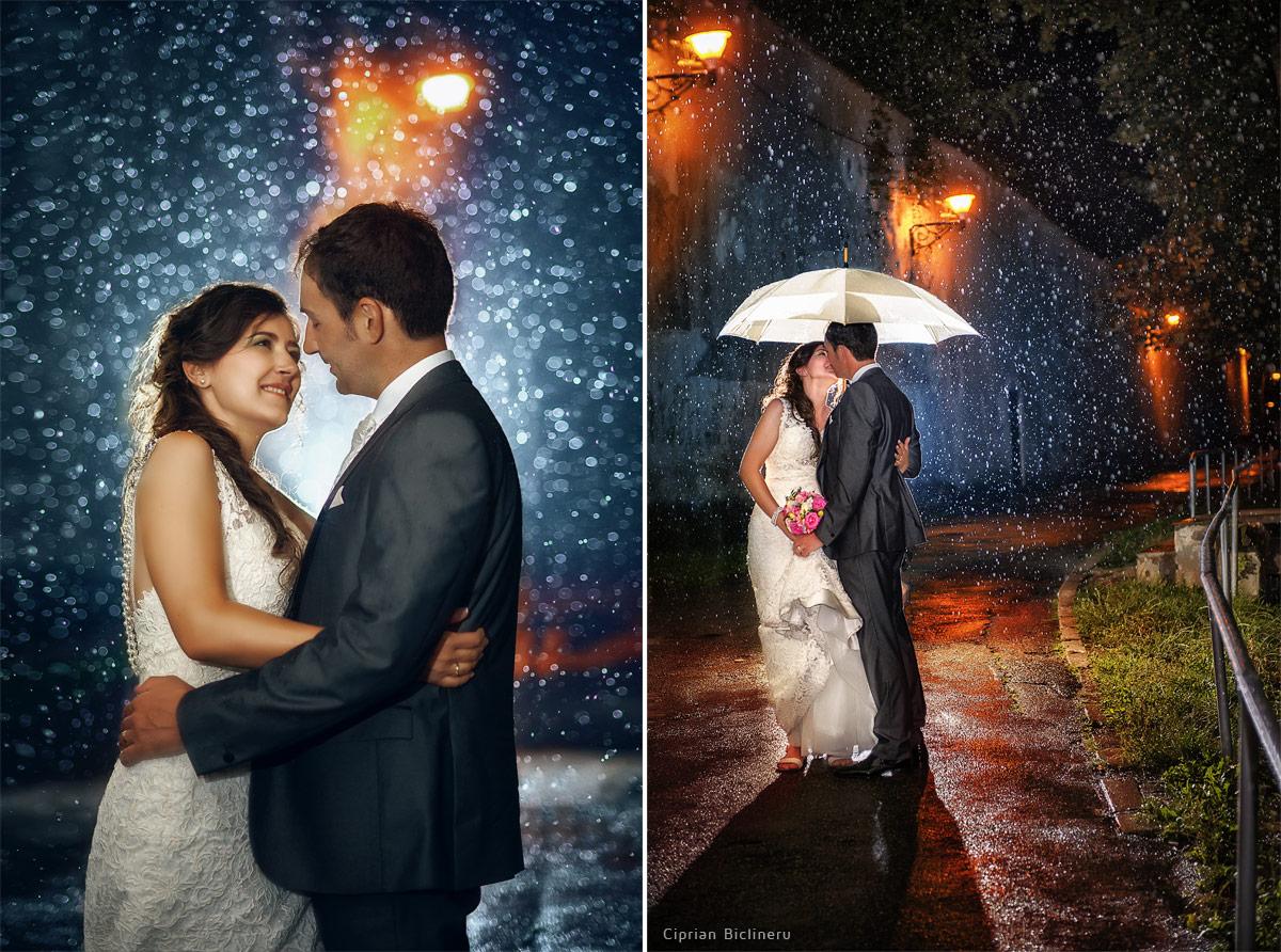 Einen guten Hochzeitsfotograf mach wunderschüne Hochzeitsfotos auch im Regen am Hochzeitstag