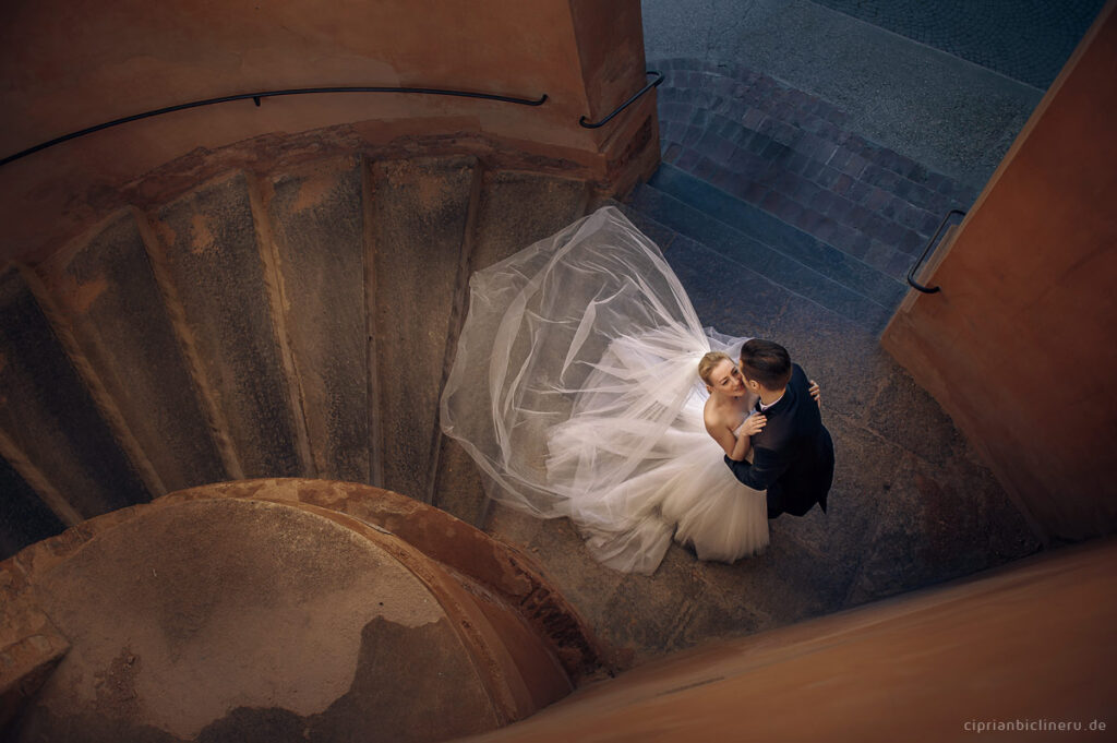Italien Brautpaarshooting in Bologna, Toskana