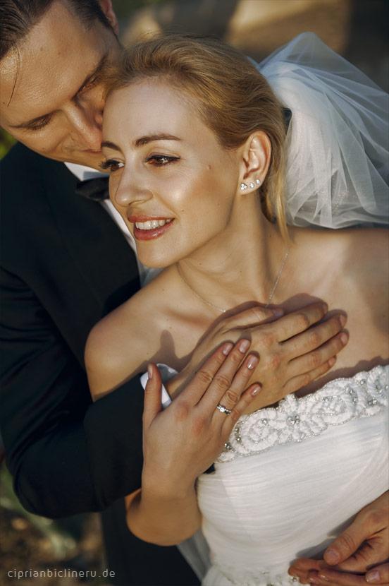 Wunderschöne Brautpaar in Toskana