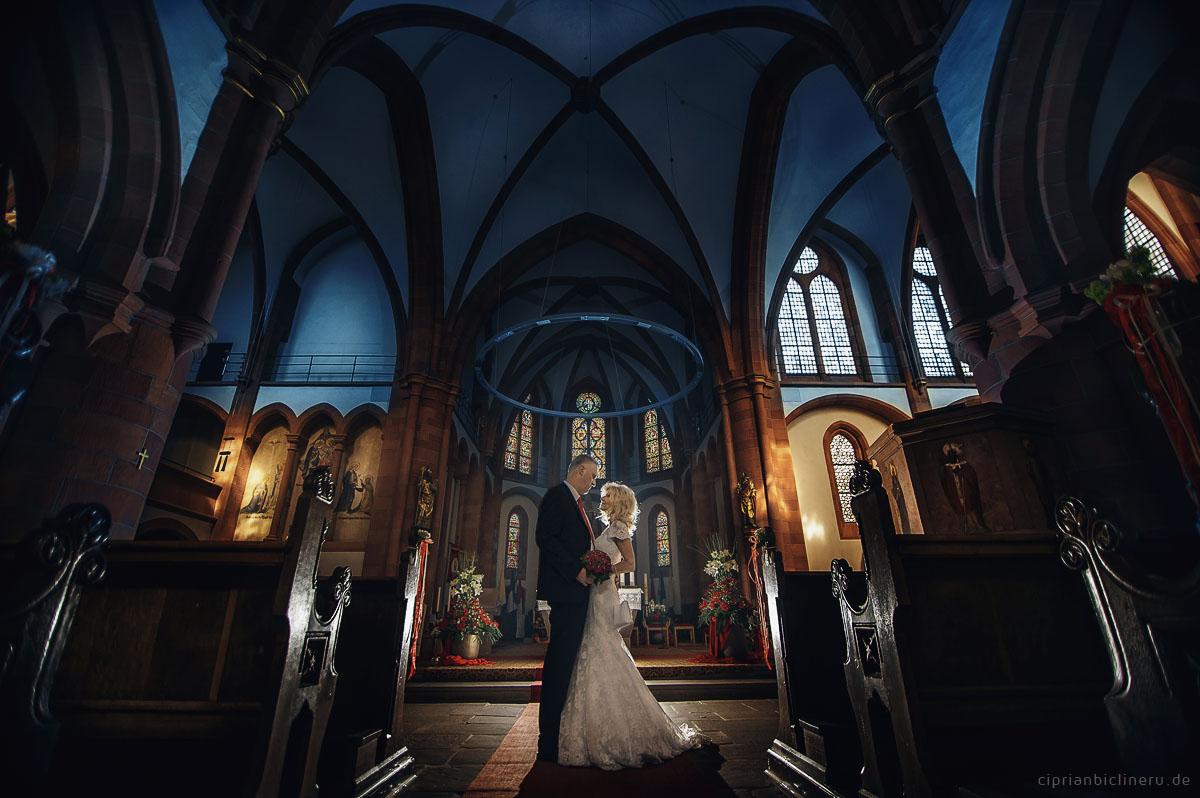 Hochzeit Amoeneburg in den Kirche