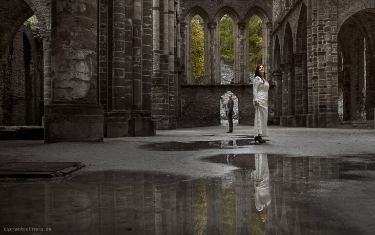 After wedding shooting in Belgien