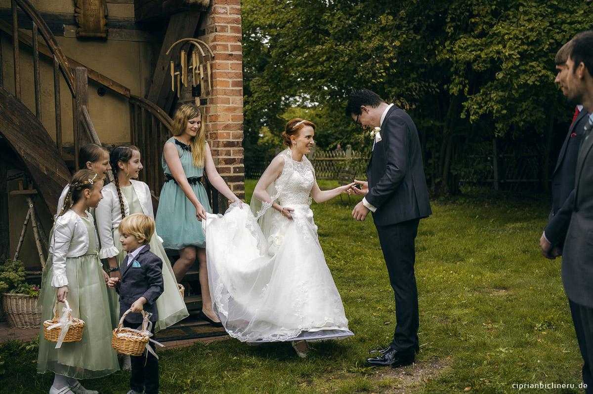 Hochzeit nahe Berlin im Schloss Wahlsdorf 01