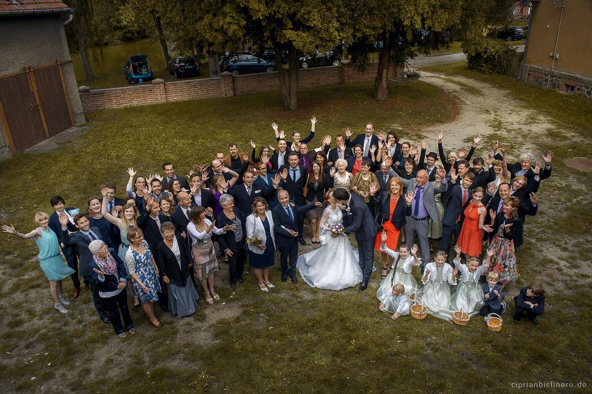 Hochzeit nahe Berlin im Schloss Wahlsdorf 07
