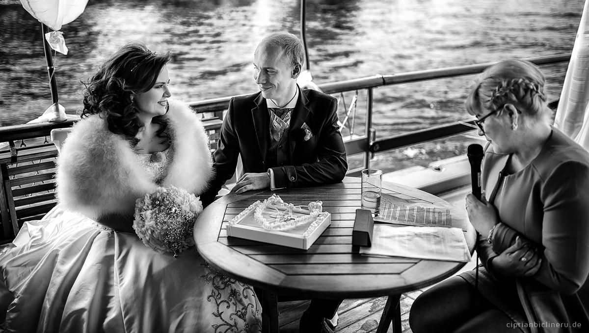 Hochzeit auf einem historischen Dampfer Dresden