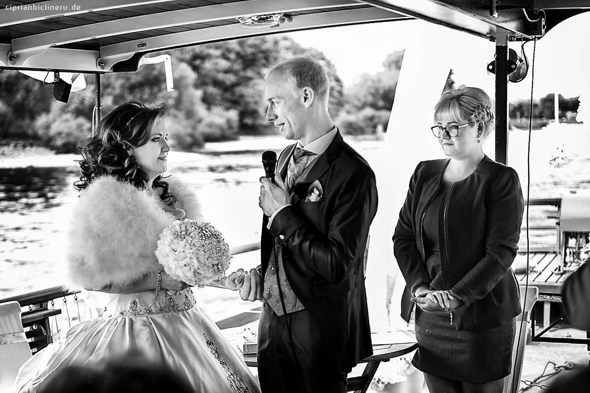 Hochzeit auf einem historischen Dampfer Dresden 02