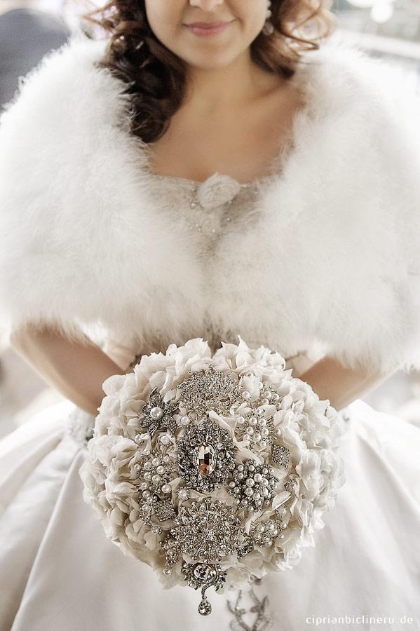 Ausergewöhnliche Brautstrauss