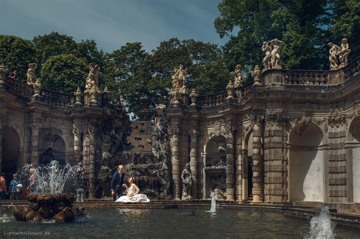Brautpaarshooting  im historischen Altstadt Dresden 02