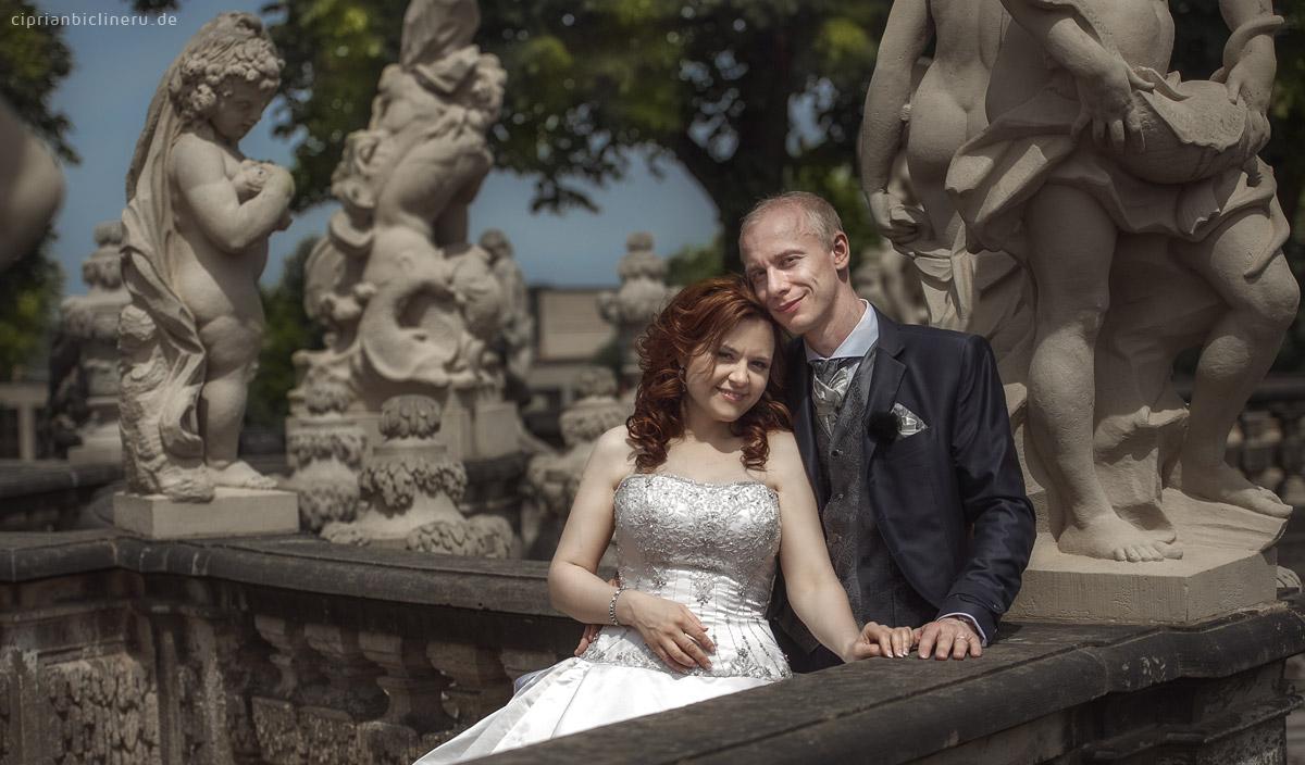 Brautpaarshooting  Altstadt Dresden