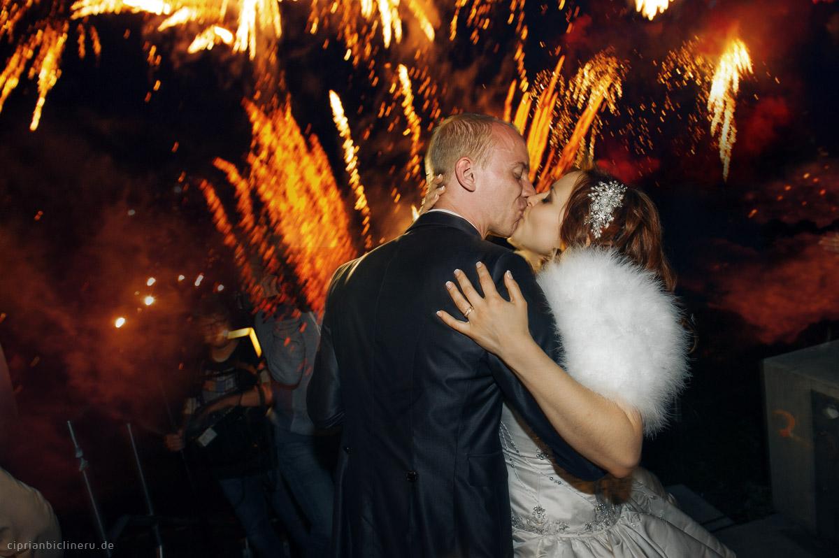 Feuerwerk Show in Dresden Ballhaus Watzke 02