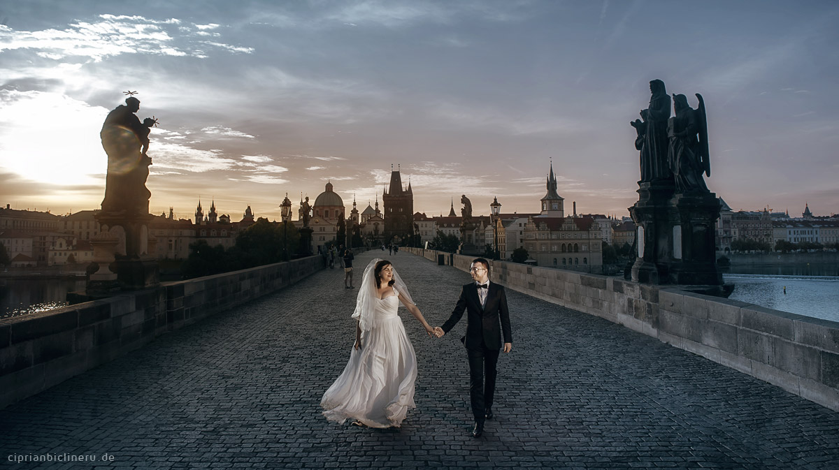 After Wedding Shooting im Prag