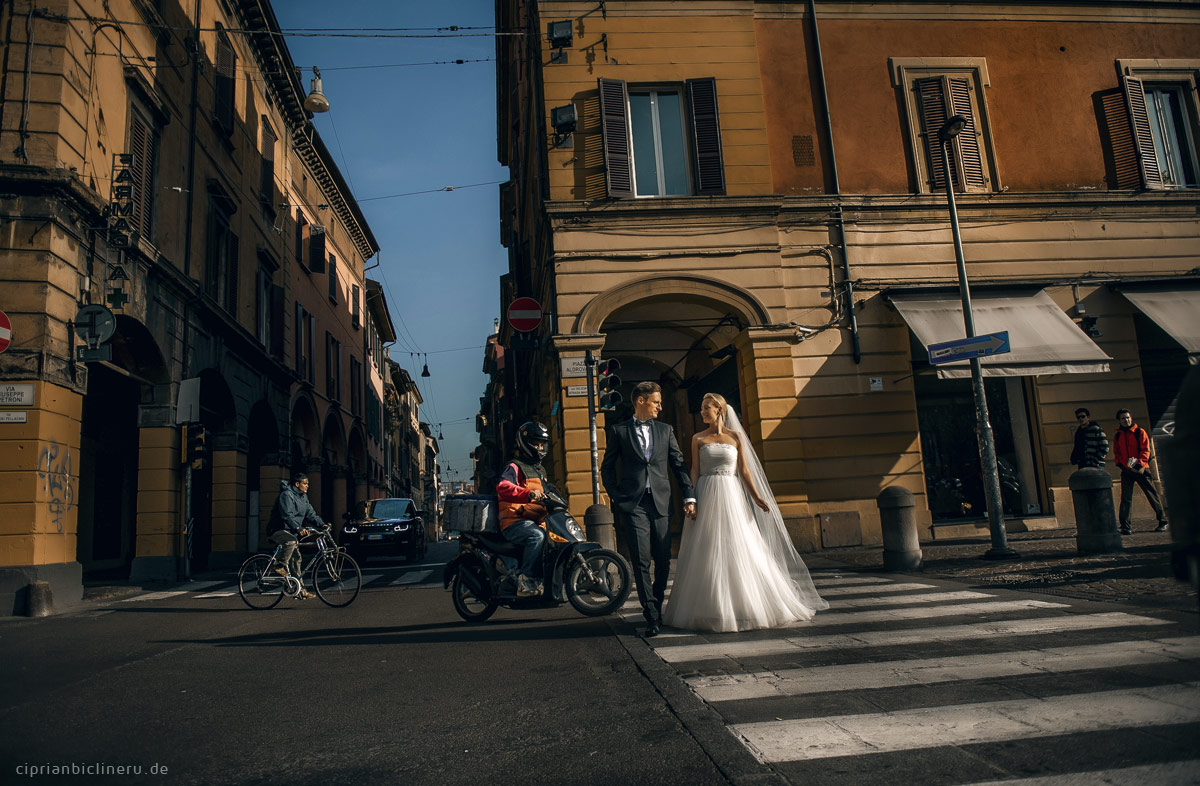 After Wedding Shooting in Italien - Bologna 02