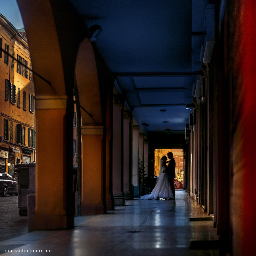After Wedding Shooting in Italien - Bologna 35