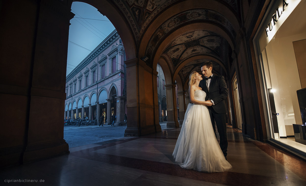 After Wedding Shooting in Italien - Bologna 44