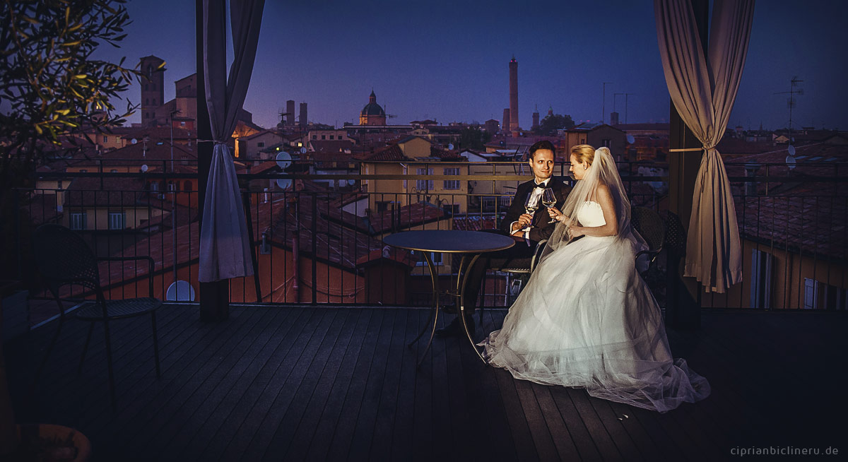 After Wedding Shooting in Italien - Bologna 45