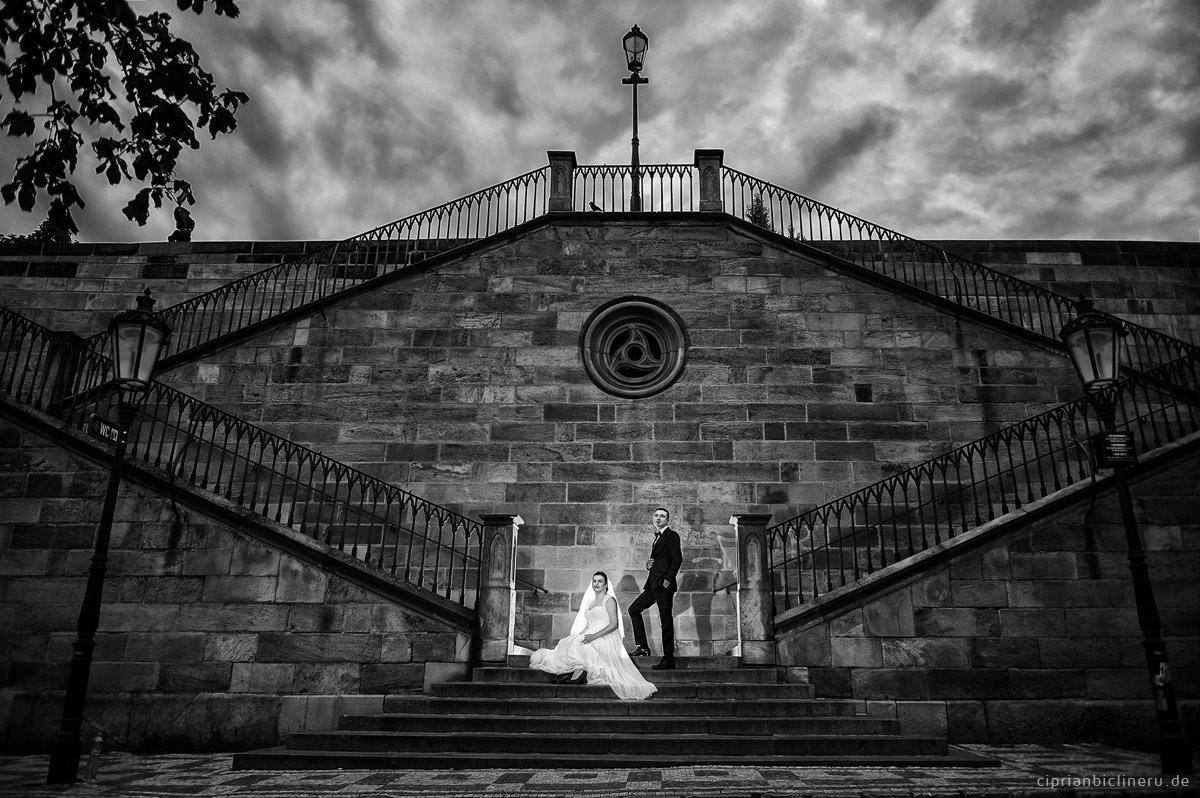 After Wedding Shooting in Prag 19