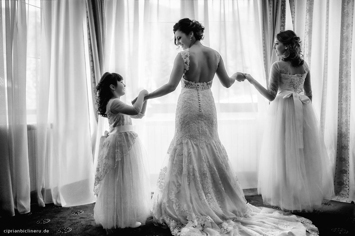 Erstaunliche Luxus Destination Hochzeit in Italien: Braut Vorbereitung