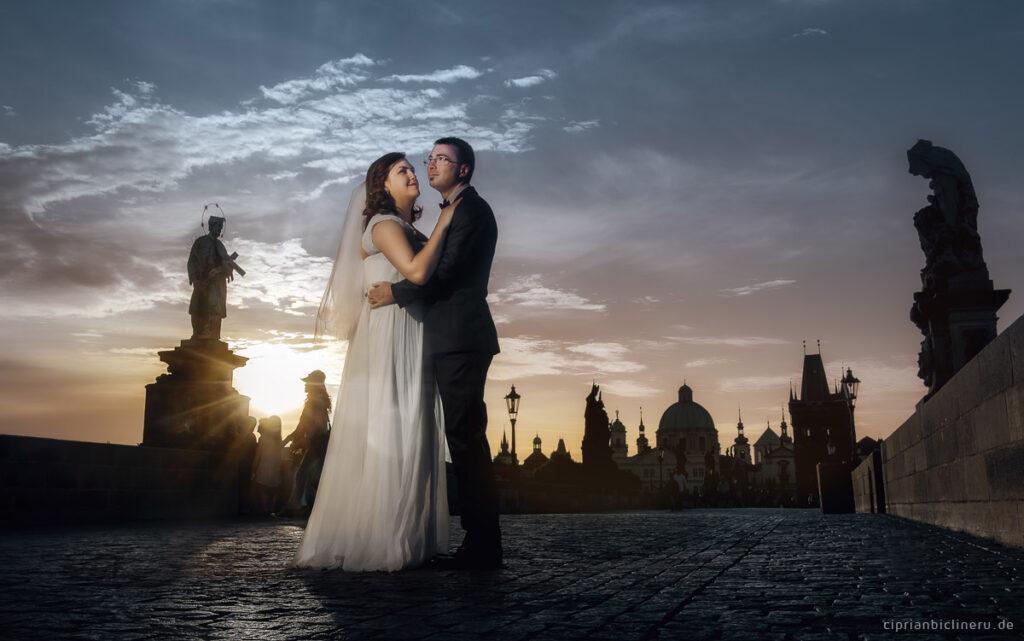 Hochzeit Fotoshooting in Prag