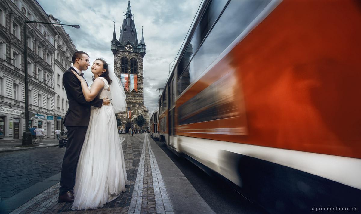 Hochzeit Fotoshooting in Prag 12