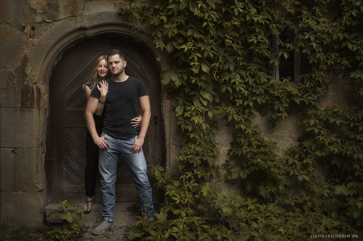 Engagement photo session in Castle Unsleben