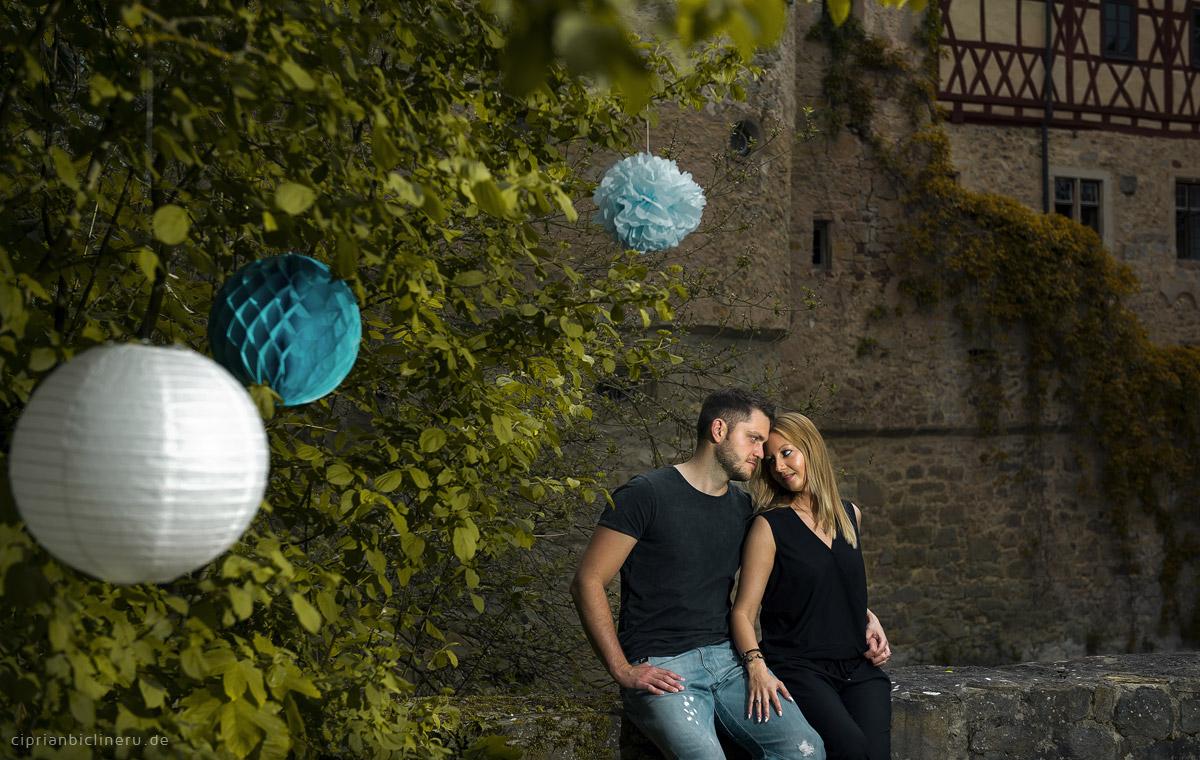 Verlobungsshooting in Schloss Unsleben 08