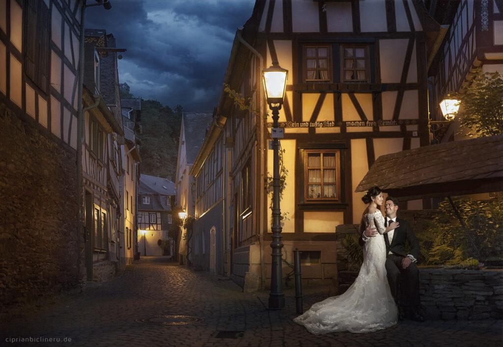 Brautpaarshooting vor der Hochzeit