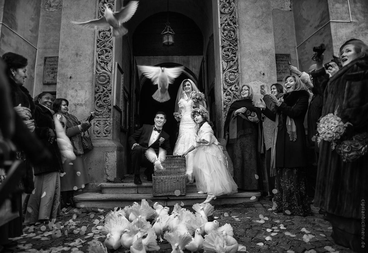 Amerikanische Winter Hochzeit in Europa 15