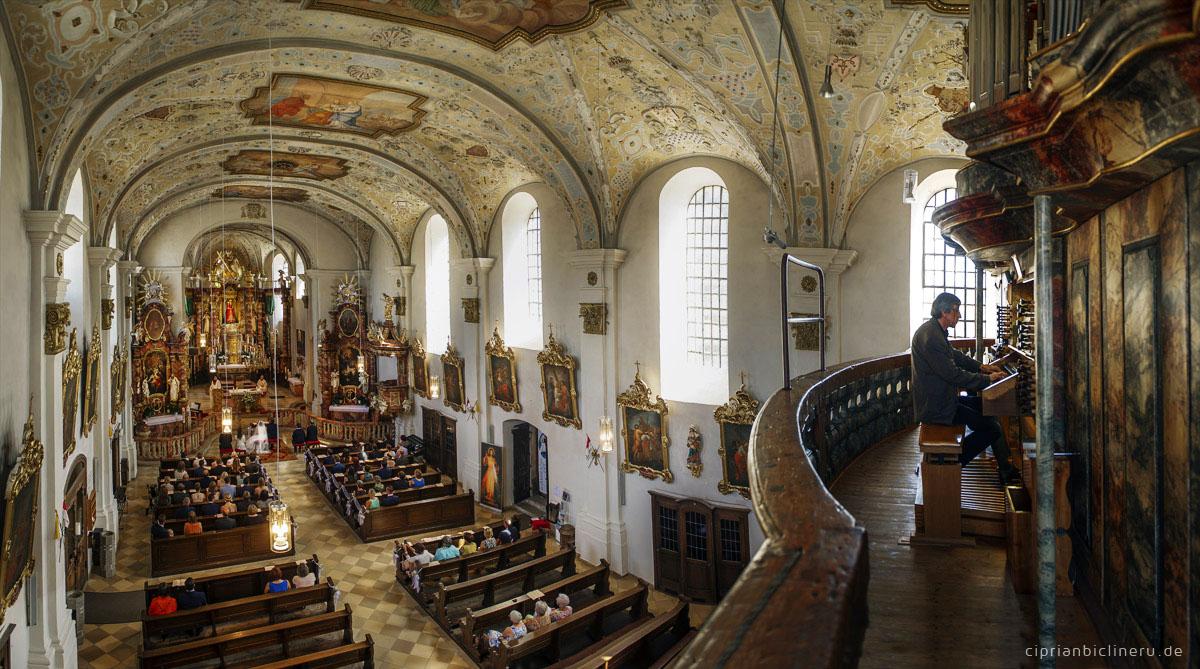 Hochzeit in Kulmbach | Kirliche Trauung in Basilika Marienweiher