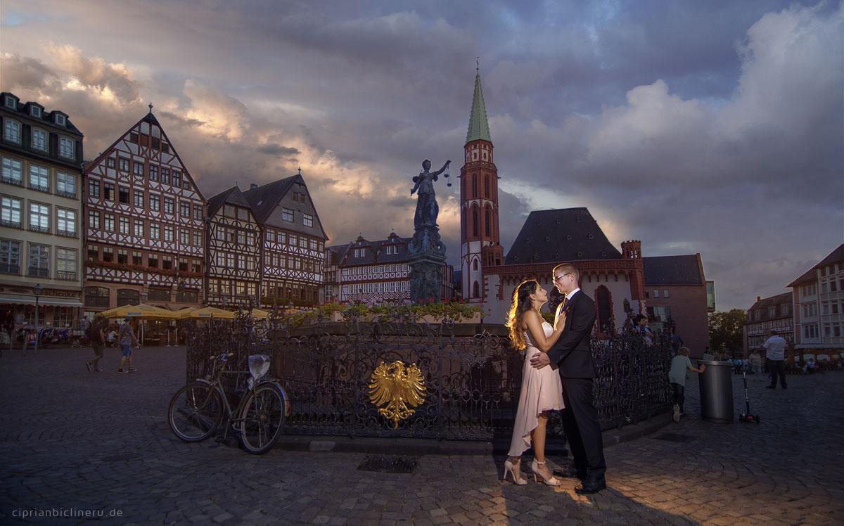Verlobungs-Shooting in Frankfurt am Main 01
