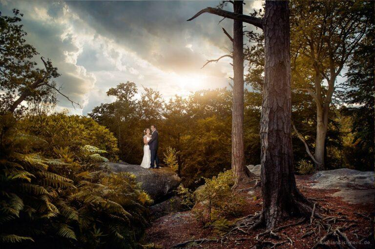 Fantastische Hochzeit in Grossbritannien