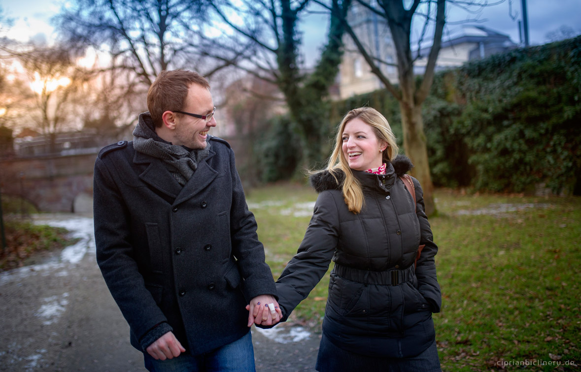 Engagement photo shoot in Darmstadt