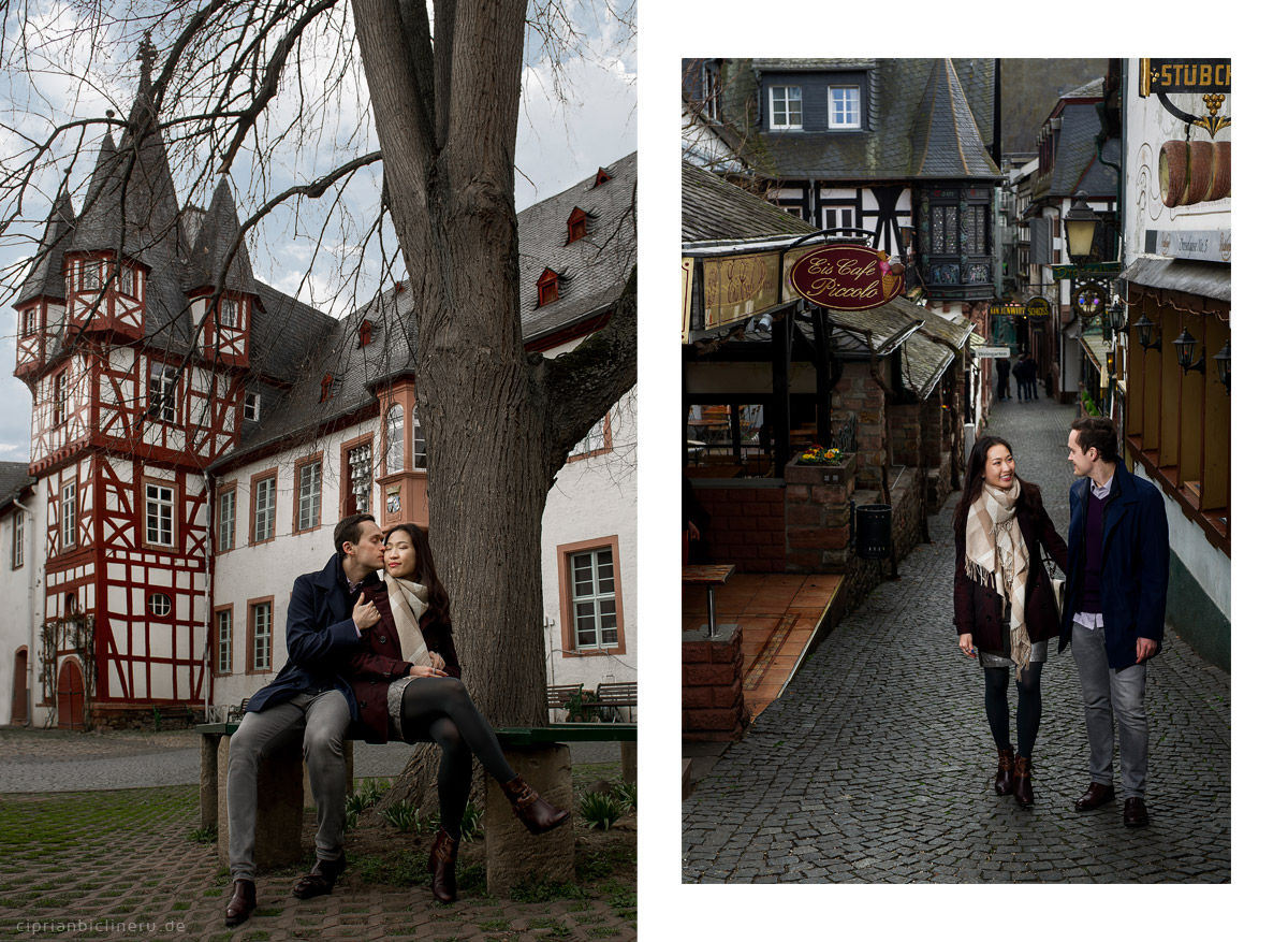 Wonderful engagement photo shoot in Rüdesheim am Main