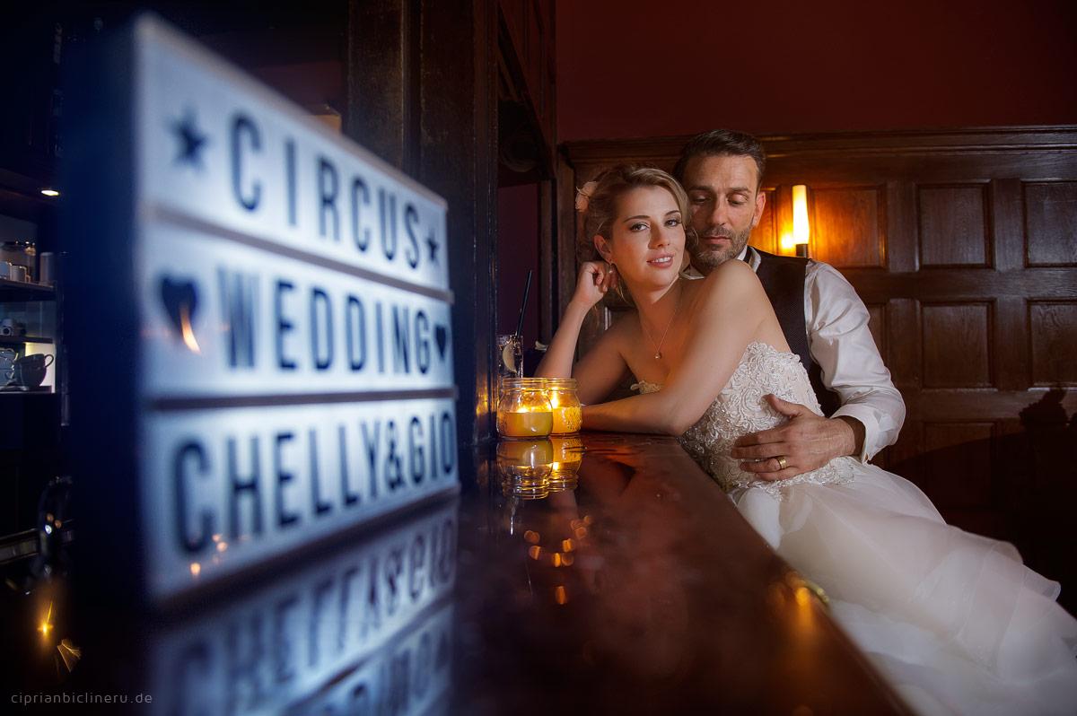 Fantastische Zirkus Hochzeit in Villa Bonn in Frankfurt am Main 22