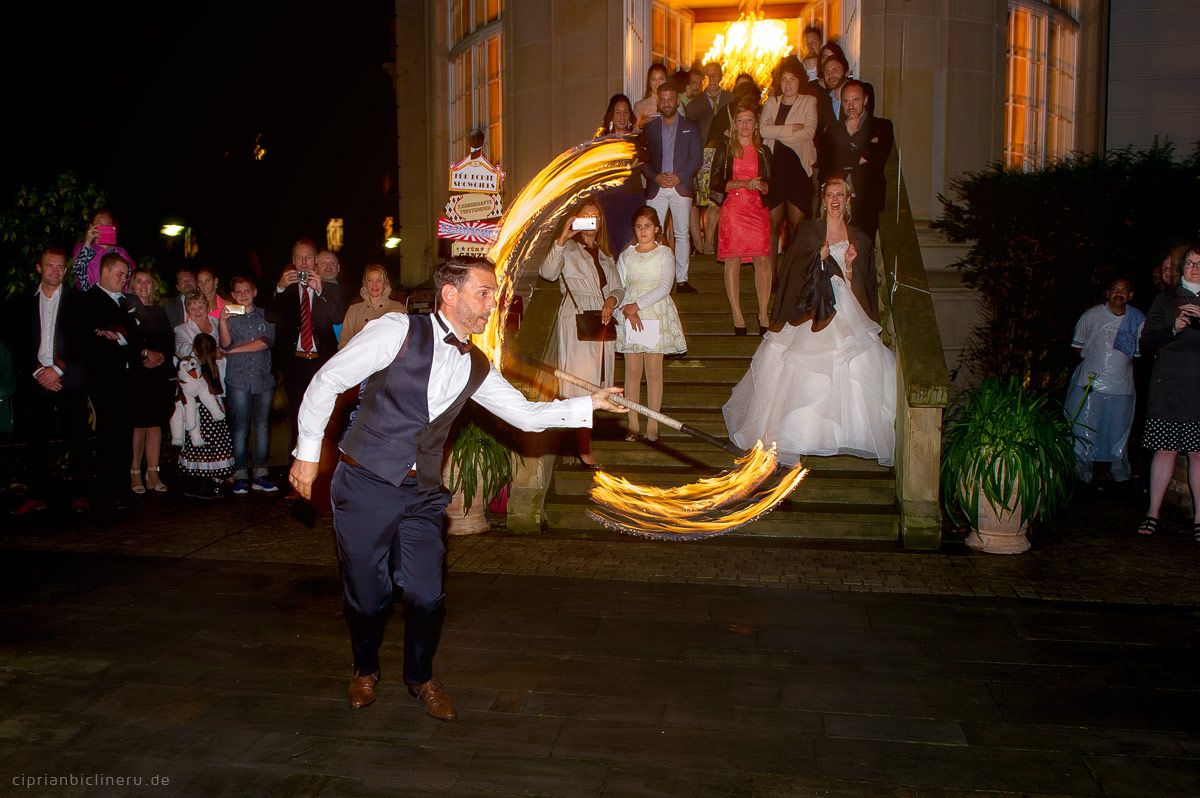 Circus wedding in Villa Bonn