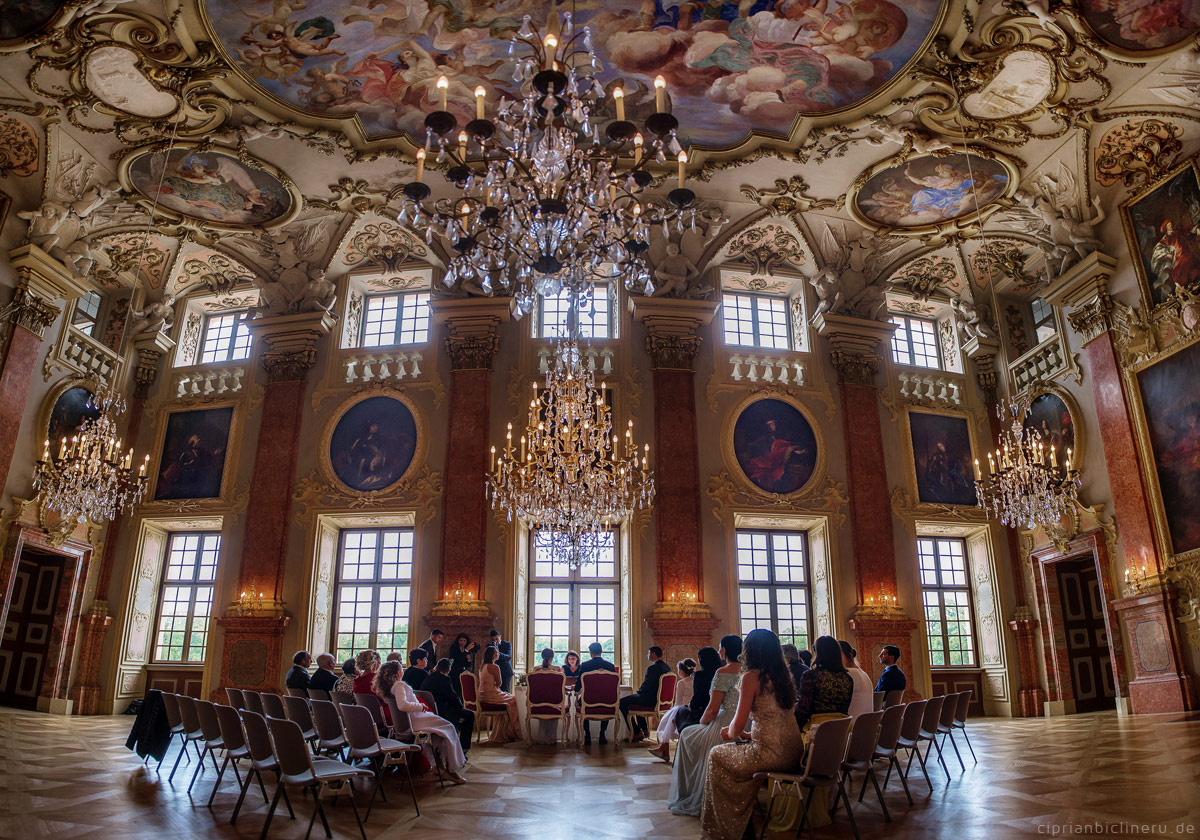 Wedding at Castle Rastatt