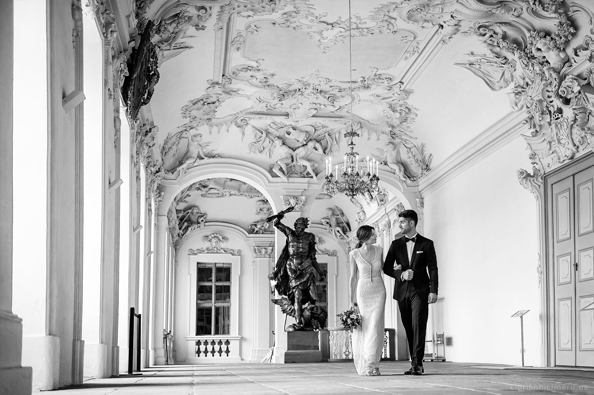 Wedding at Castle Rastatt