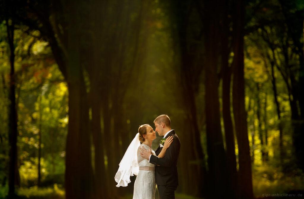 Wedding in Brühl and photo shoot in Schloss Augustusburg 01