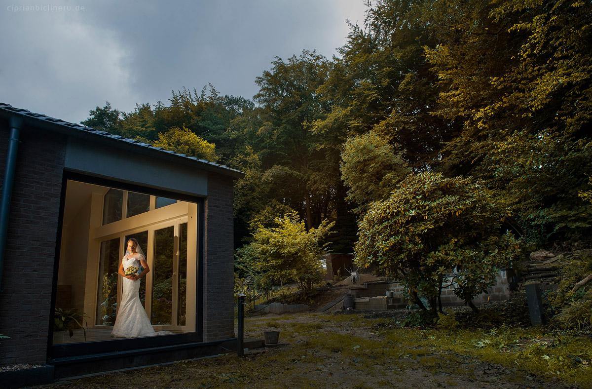 Wedding in Brühl and photo shoot in Schloss Augustusburg 05