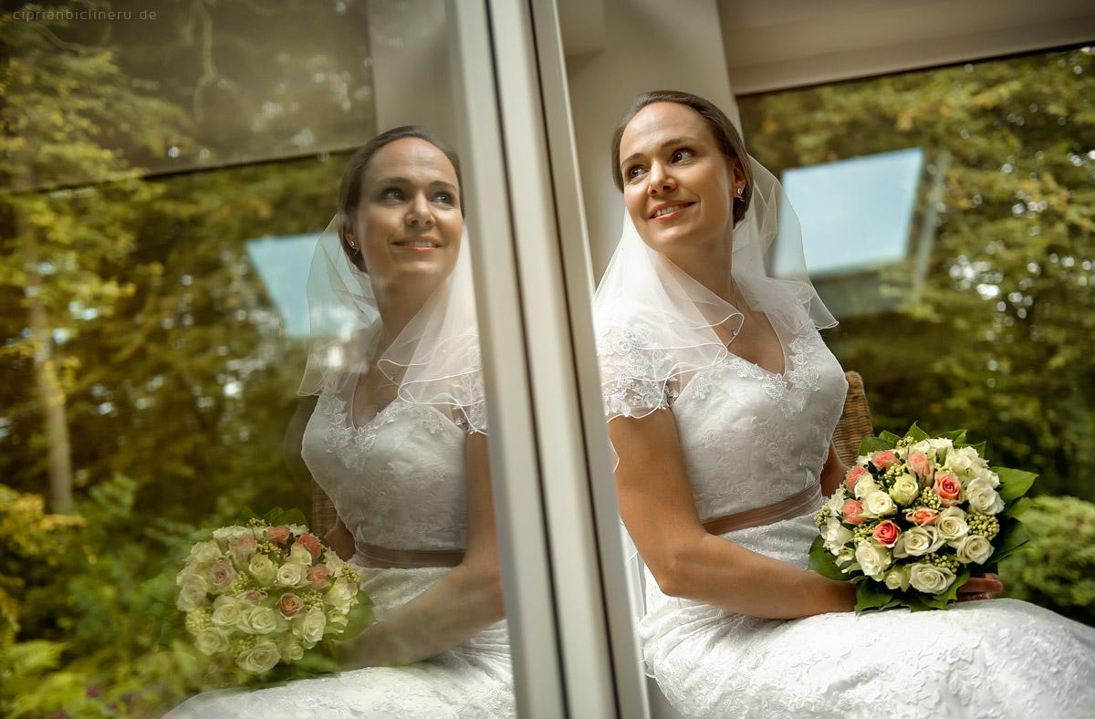 Wedding in Brühl and photo shoot in Schloss Augustusburg 06