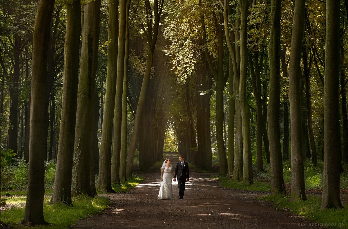 Hochzeit in Brühl und Brautpaarshooting auf Schloss Augustusburg und Feier im Kaiserbahnhof 16