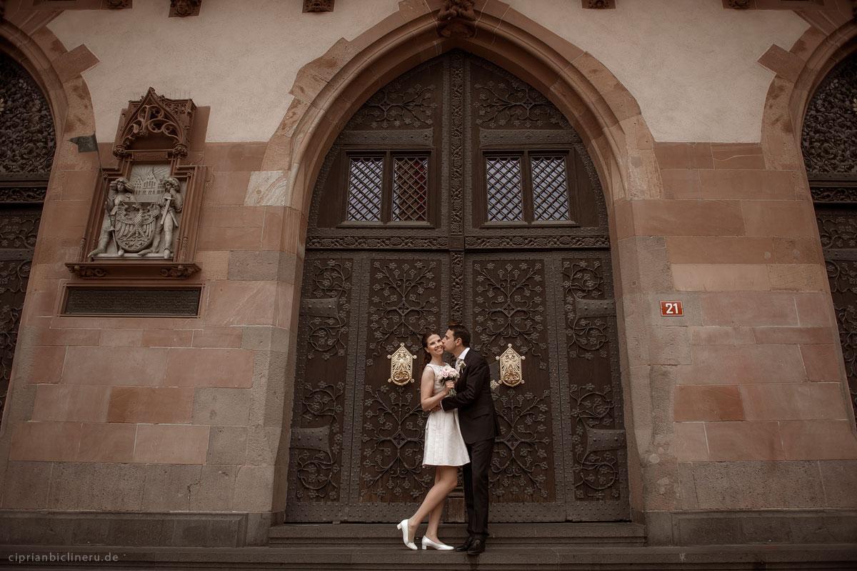 Standesamtliche Trauung im Römer Frankfurt 10