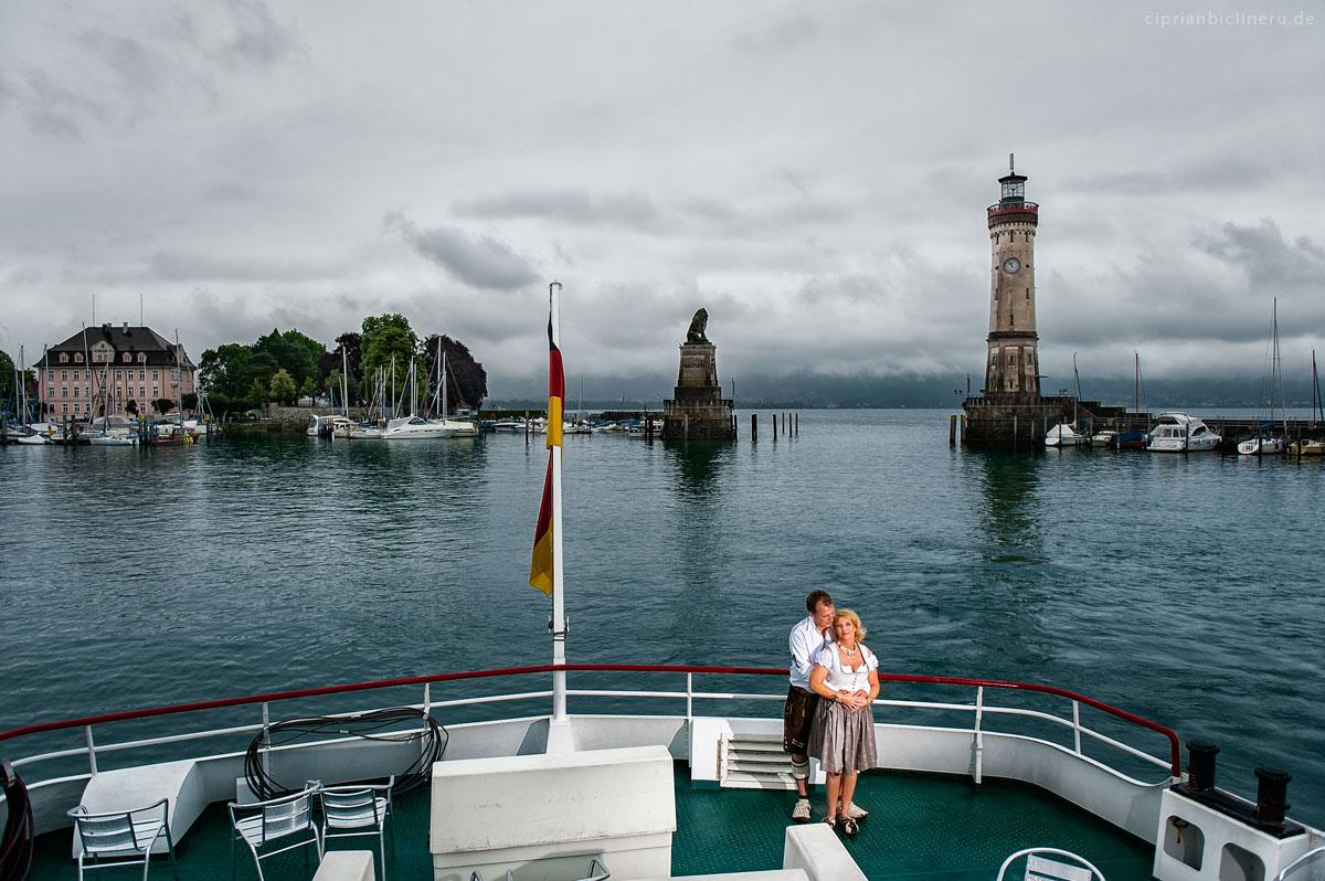 Destination wedding at Bodensee in Wasserburg am Bodensee