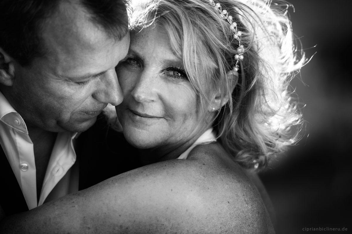 Romantische Brautpaar von Hochzeitsfotograf Frankfurt