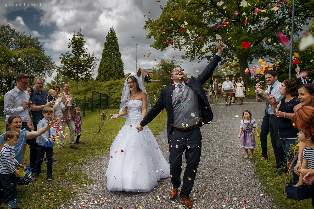 the church wedding ceremony
