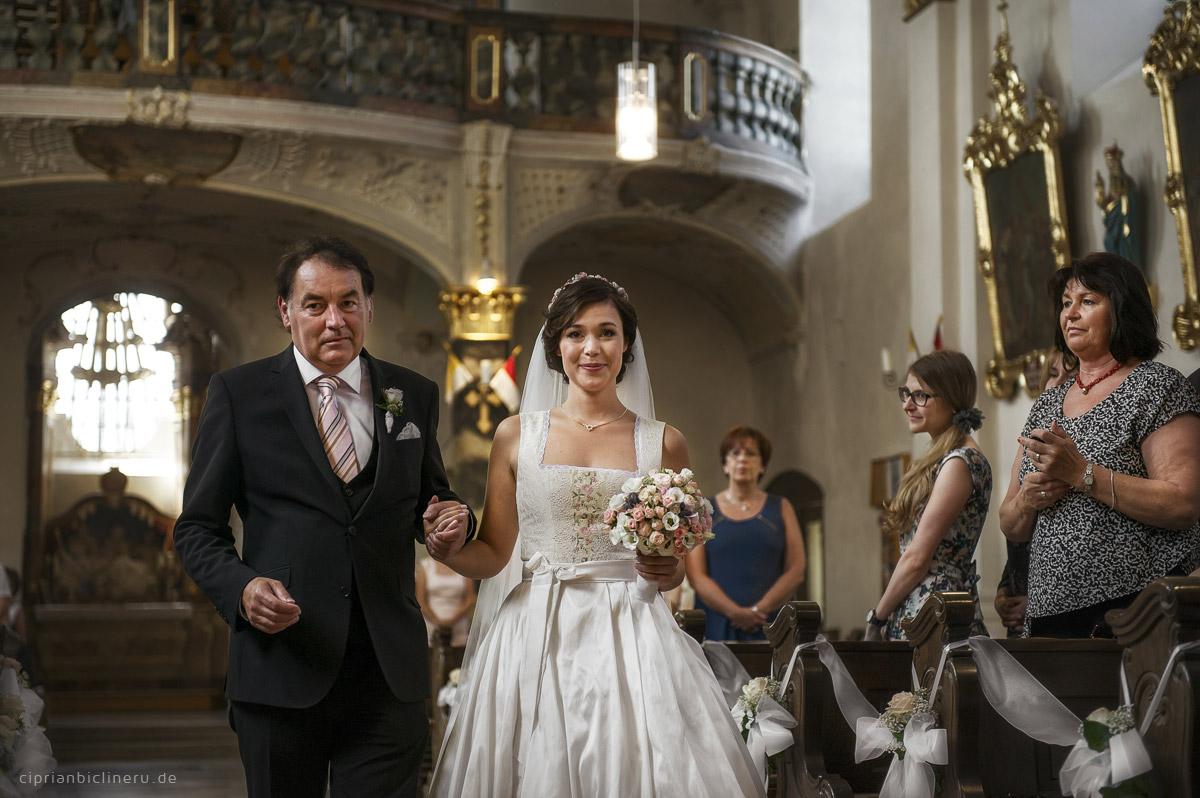 Hochzeitsfotografie kirchliche Trauung in Kulmbach