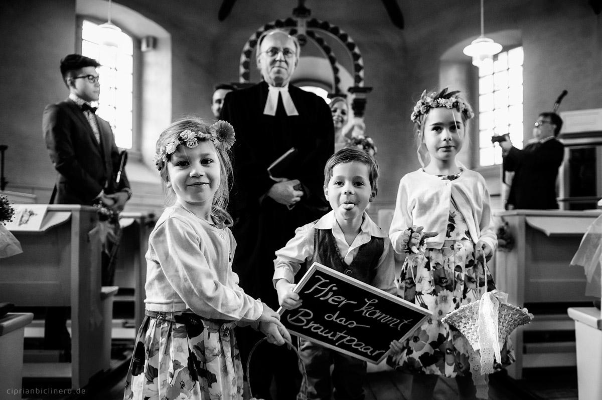 Kinder auf der Hochzeit, Hochzeit mit Kindern