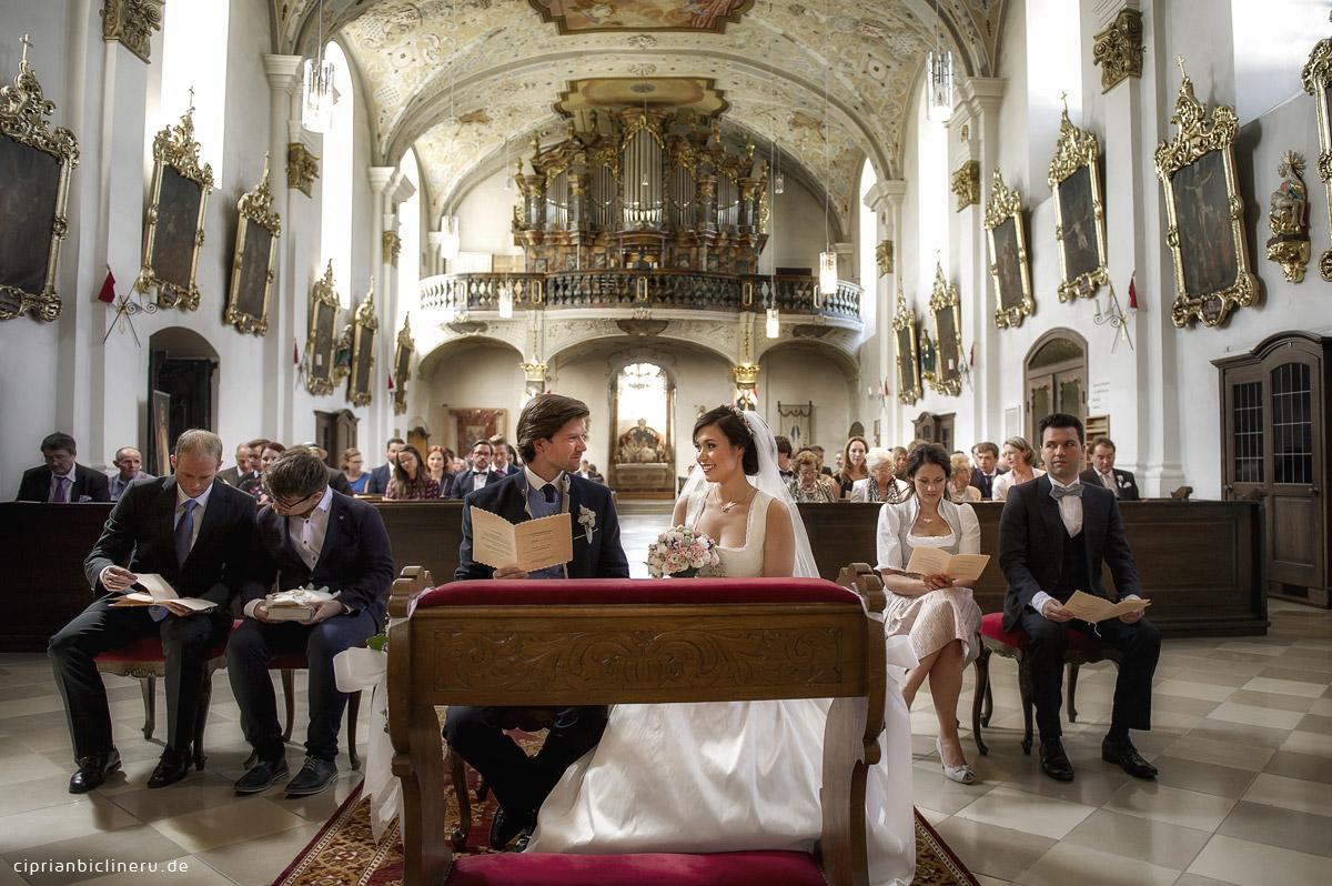Kirchliche Trauung im Kulmbach