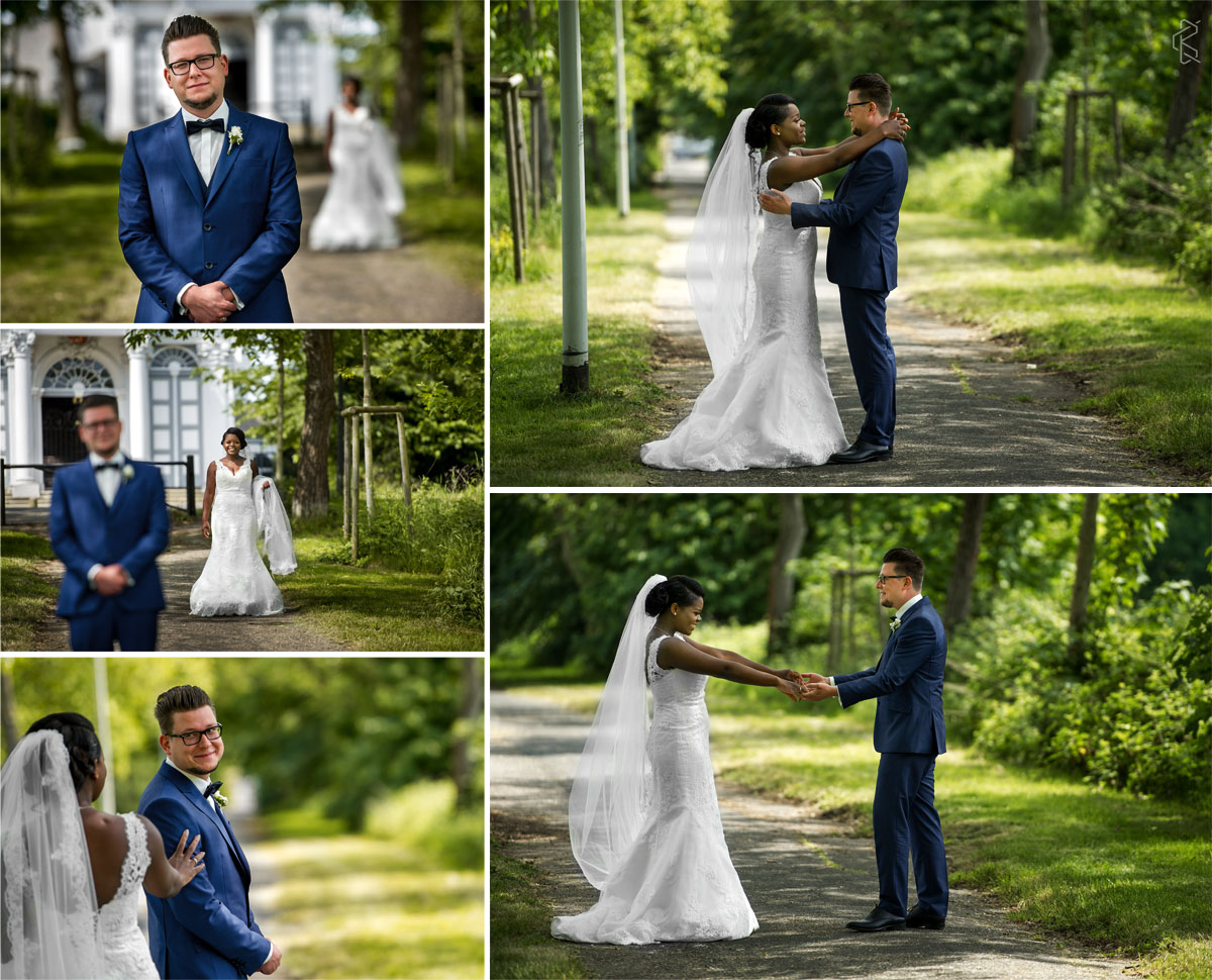 Wedding in Bonn Germany at Römerhof Bornheim, first look